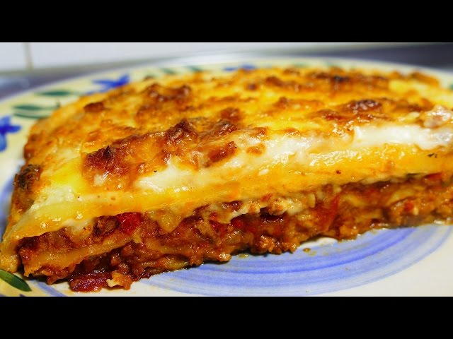 Easy lasagna recipe with bechamel sauce tasty food recipes for easy lasagna recipe with bechamel sauce tasty food recipes for dinner to make at home forumfinder Image collections